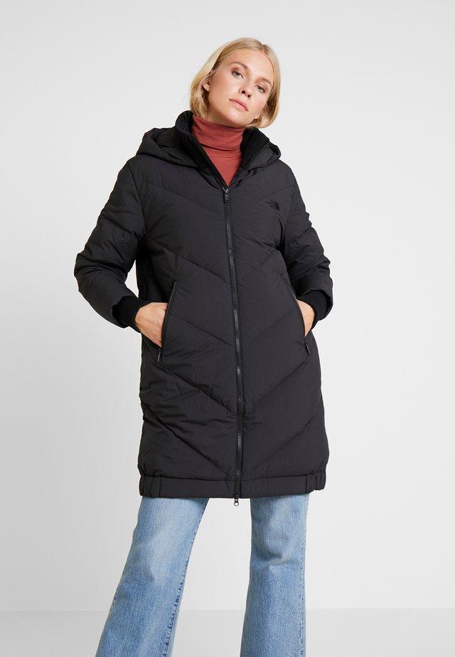 Płaszcz puchowy - tnf black