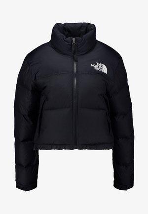 NUPTSE CROP - Gewatteerde jas - black
