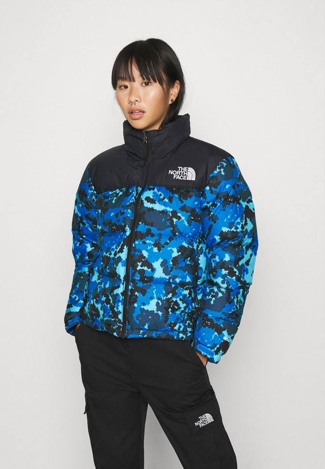 W 1996 RETRO NUPTSE JACKET - Down jacket - clear lake blue