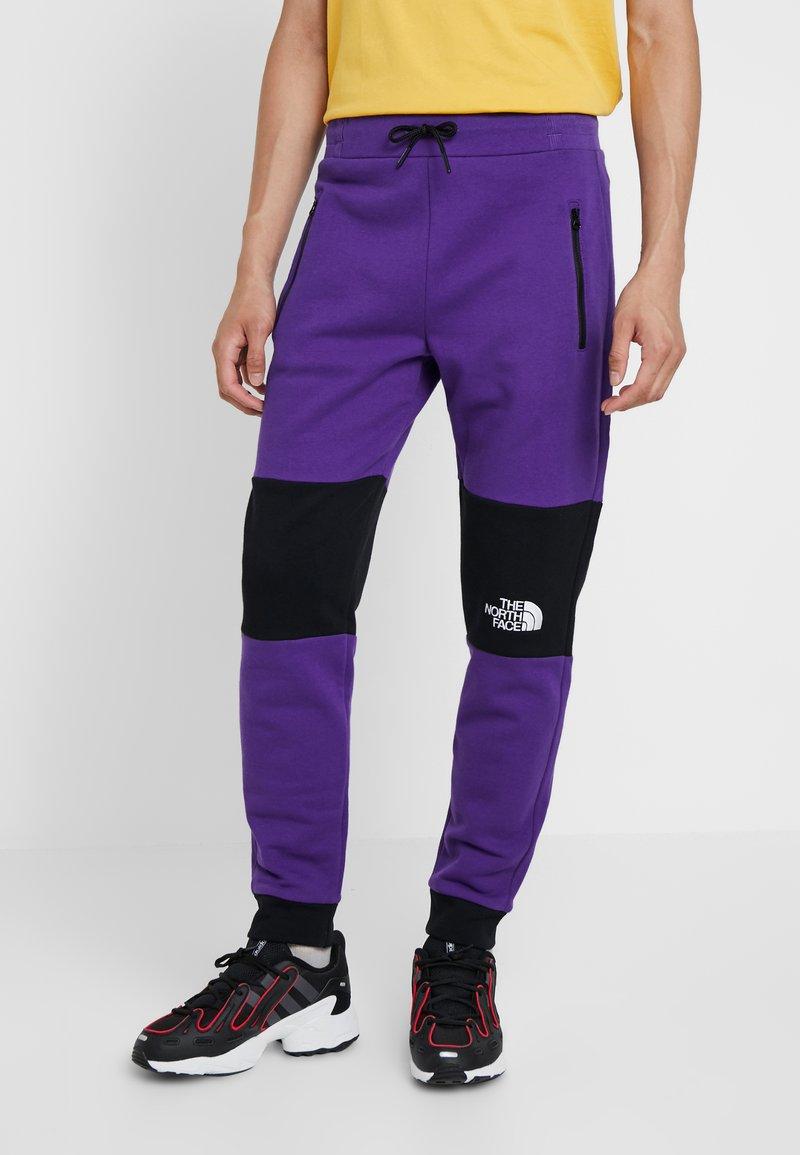 The North Face - HIMALAYAN PANT - Spodnie treningowe - hero purple/black