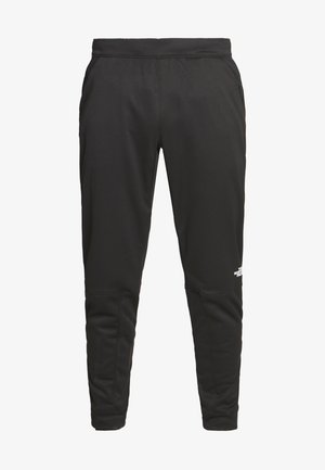 TRAIN LOGO PANT - Spodnie treningowe - black
