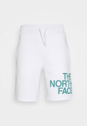 GRAPHIC - Shorts - white/fanfare green