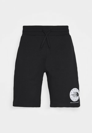GEODOME - Tracksuit bottoms - black