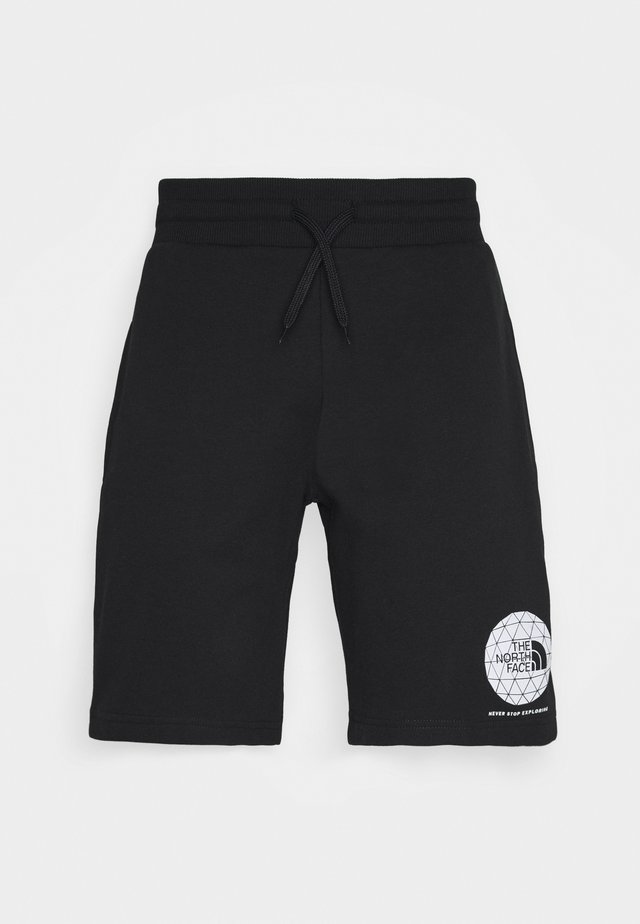 GEODOME - Spodnie treningowe - black