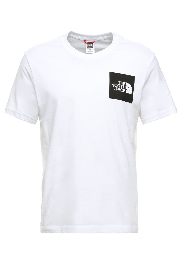 The North Face Fine Tee - T-shirt Print White/black