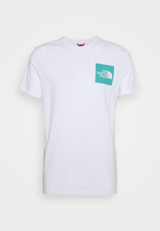 FINE TEE - T-Shirt print - white