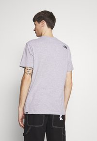 The North Face - FINE TEE - Print T-shirt - heather grey - 2