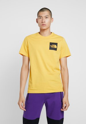 FINE TEE - T-shirt print - yellow