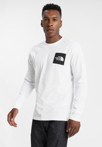The North Face - FINE - Bluzka z długim rękawem - white - 0