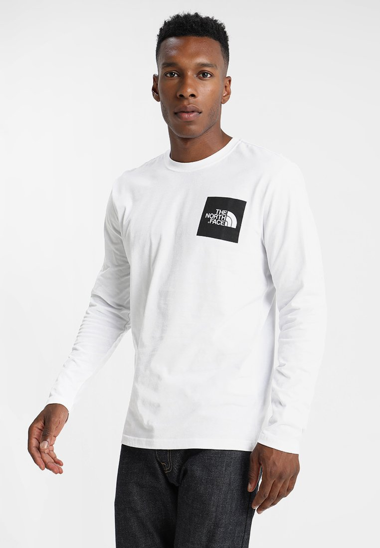 The North Face - FINE TEE - Top s dlouhým rukávem - white