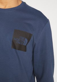 The North Face - FINE TEE  - T-shirt à manches longues - blue wing teal - 4