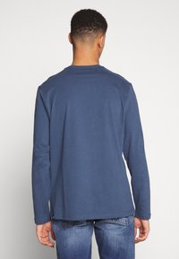 The North Face - FINE TEE  - T-shirt à manches longues - blue wing teal - 2
