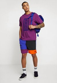 The North Face - RETRO RAGEDD TEE - T-shirt print - phlox purple - 1