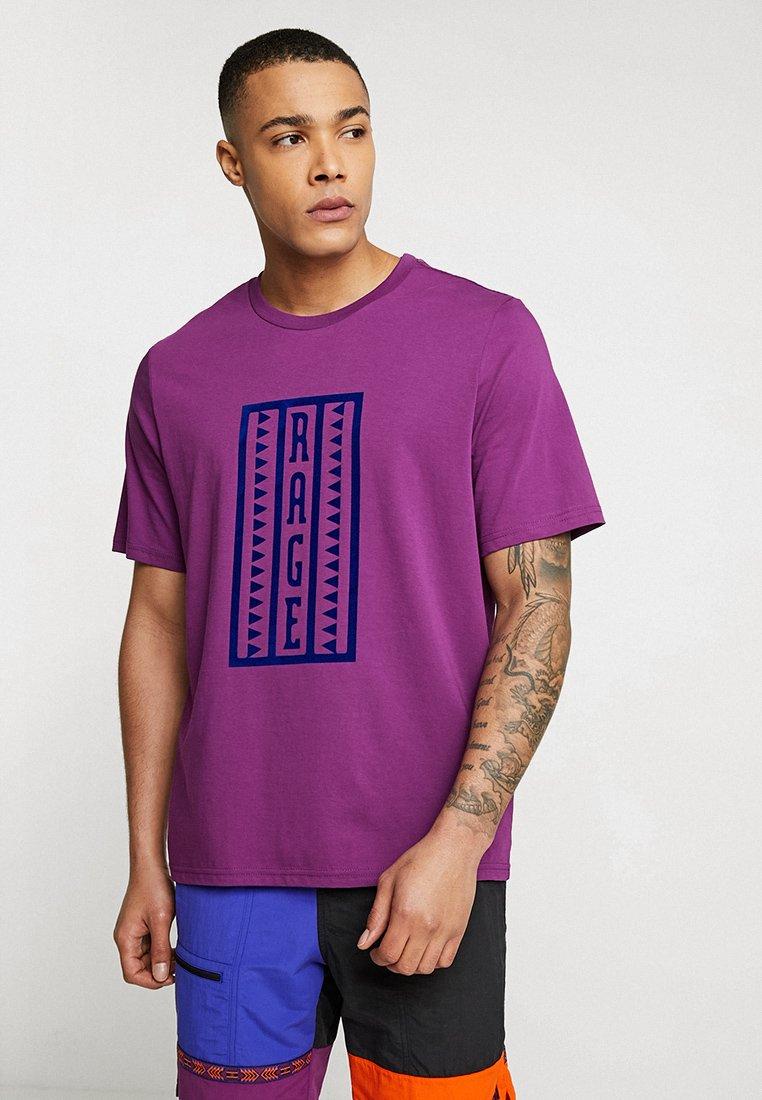 The North Face - RETRO RAGEDD TEE - T-shirt print - phlox purple