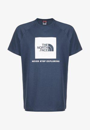 RAG BOX - T-shirt print - blue wing teal