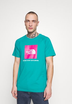 RAG BOX - T-shirt print - jaiden green