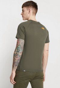 The North Face - RAG BOX - T-shirt print - new taupe green - 2