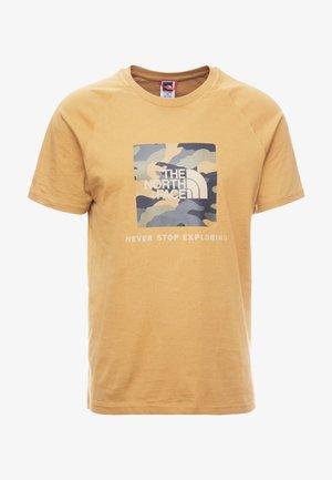 RAG BOX - T-shirt z nadrukiem - british khaki