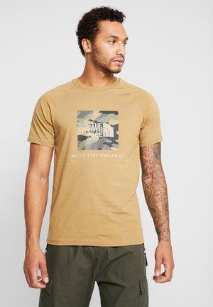 RAG BOX - Print T-shirt - british khaki