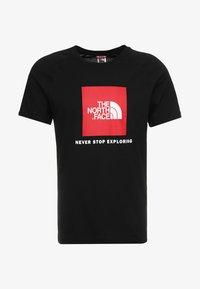 The North Face - RAG BOX - T-shirt print - black - 3