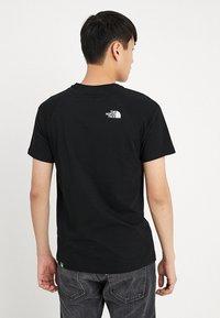 The North Face - RAG BOX - T-shirt print - black - 2