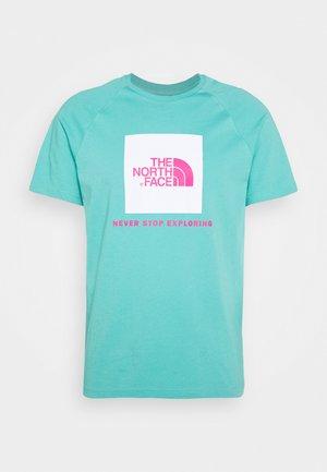 RAGLAN TEE  - Print T-shirt - lagoon