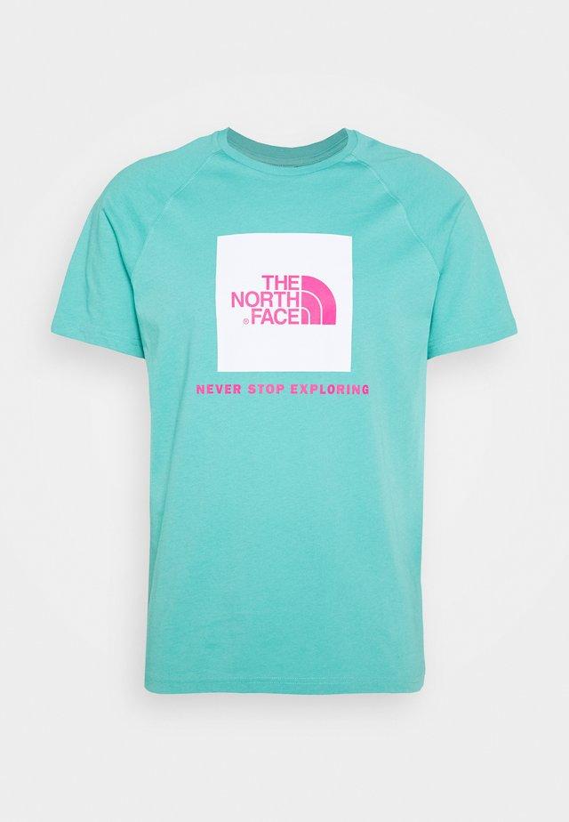 RAG BOX - T-shirt z nadrukiem - lagoon