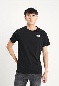The North Face - RAG DO TEE - T-shirts print - black - 0