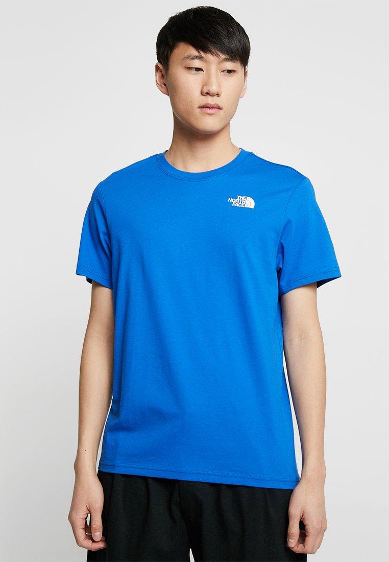 The North Face - BOX TEE - Print T-shirt - nautical blue