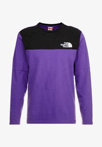 The North Face - HIMALAYAN TEE - Långärmad tröja - hero purple/black - 3