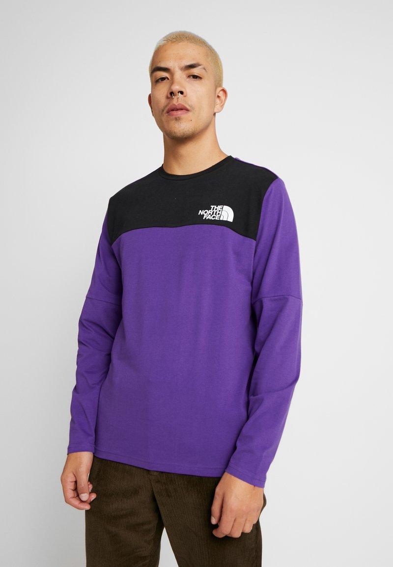 The North Face - HIMALAYAN TEE - Långärmad tröja - hero purple/black
