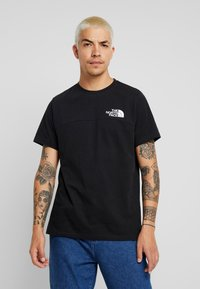 The North Face - HIMALAYAN TEE - T-shirt print - black - 0