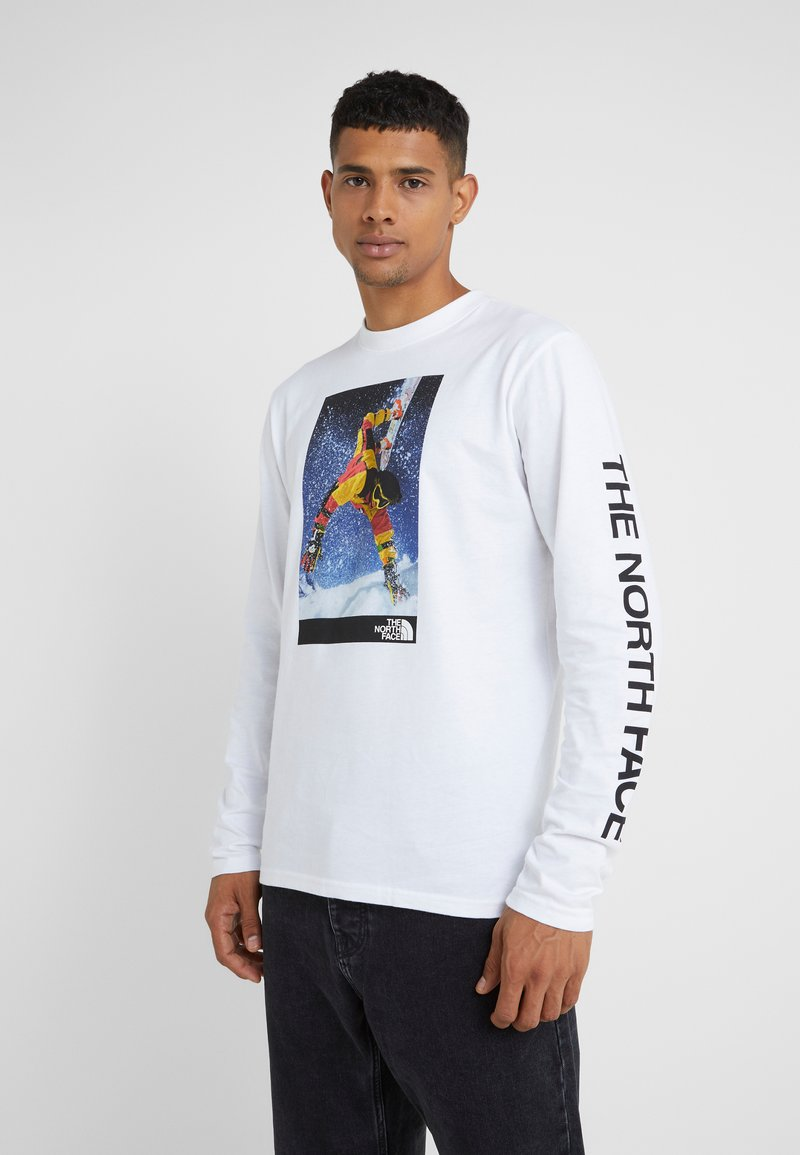 The North Face - RETRO RAGE TEE - Langærmede T-shirts - white
