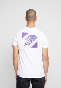 The North Face - SLANTED LOGO TEE - T-Shirt print - hero purple - 2