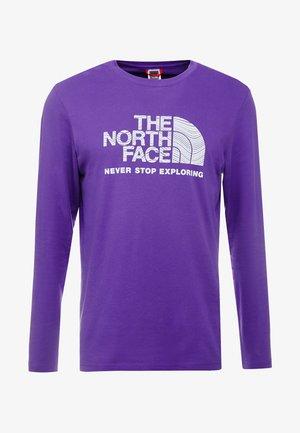 FILLED LOGO TEE - T-shirt à manches longues - purple
