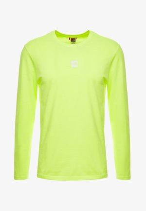 GRAPHIC TEE - Pitkähihainen paita - bright yellow