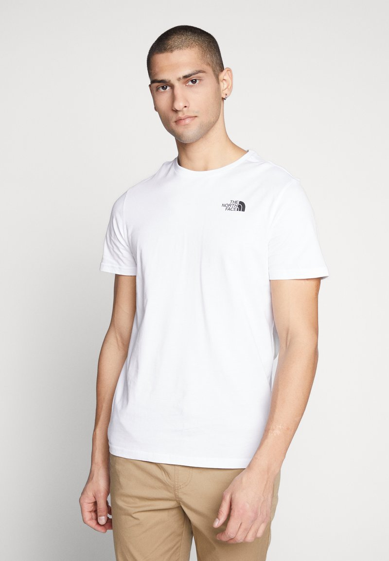 The North Face - T-shirts med print - white