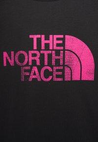 The North Face - T-shirt z nadrukiem - black - 2