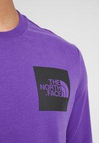 The North Face - FINE TEE - Longsleeve - hero purple - 4