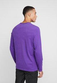 The North Face - FINE TEE - Longsleeve - hero purple - 2