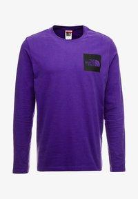 The North Face - FINE TEE - Longsleeve - hero purple - 3