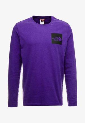 FINE TEE - Top sdlouhým rukávem - hero purple