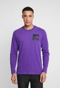The North Face - FINE TEE - Longsleeve - hero purple - 0