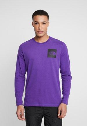 FINE TEE - T-shirt à manches longues - hero purple