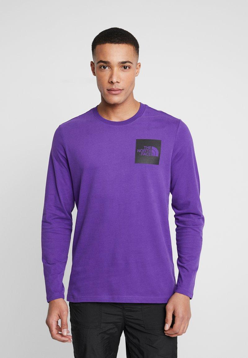 The North Face - FINE TEE - Longsleeve - hero purple