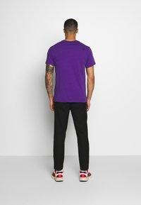 The North Face - FINE TEE - T-shirt med print - hero purple - 2