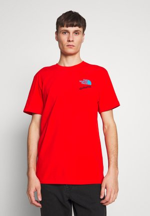 EXTREME TEE - Print T-shirt - fiery red