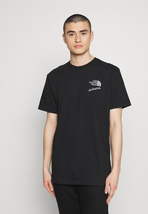 EXTREME TEE - T-shirts med print - black
