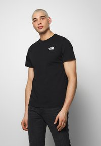 The North Face - PEAKS TEE - T-shirts med print - black - 0