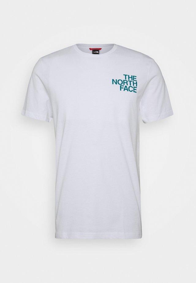 GRAPHIC FLOW - T-shirt print - white/multicolor